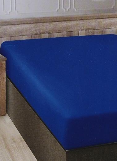 Boyner Evde Boyner Evde 280 x 280 Battal Boy Mavi Düz Çarşaf Mavi
